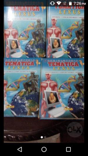 Remato Colección Enciclopedias Lexus