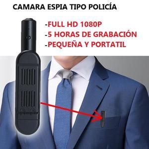 Camara Espia Policia Tipo Lapicero 5 Horas de Grabación