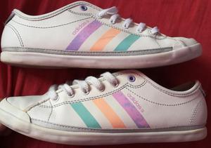 Zapatillas Adidas Neo Label compradas en usa Talla 36 buen