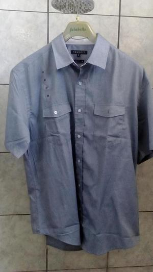 SuperOferta Camisa NewPort Clasico Talla M