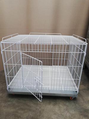 Jaulas De Perro Piso Plastificado De 0.80 X 0.60 X 0.60