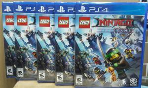 Lego Ninjago Ps4 Nuevo Sellado Stock