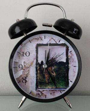 Reloj Despertador Estilo Vintage Led Zeppelin d Mesa Alarma
