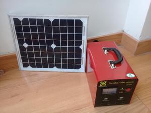 Vendo Kit de Panel Solar Portátil