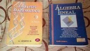 VENDO LIBROS UNIVERSITARIOS ANÁLISIS MATEMÁTICO 1 DE