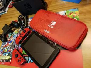 vendo nintendo switch edition super mario odisey