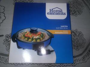 Sartén Eléctrica Home Elements