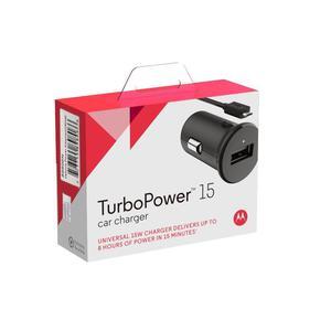 Cargador Auto Motorola Turbo Power 15 Carga Super Rápida