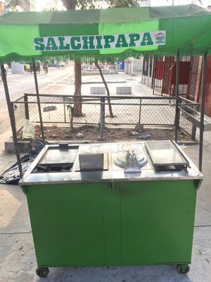 Carrito Salchipapas, Broster, Sanguchero