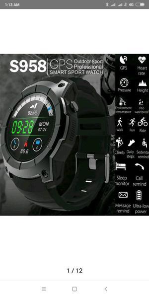 S958 Gps Smart Watch