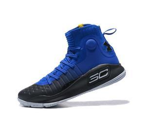 Zapatillas Under Armour Curry 4 Blue Black  Exclusivas