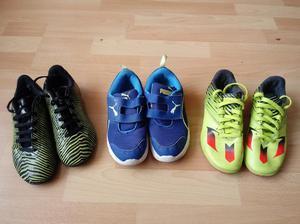 zapatillas para niño talla 32