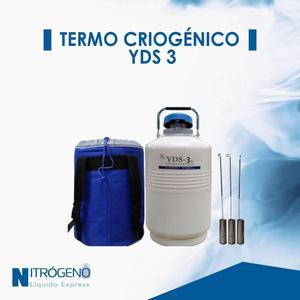 Termo Criogenico Yds 3 4.5 Litros para almacenar nitrogeno