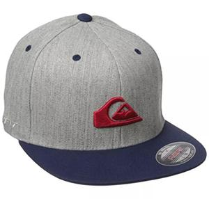 Gorra Quiksilver Ball Cap Edition Limited grey logo red
