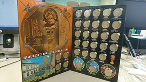 Coleccion de monedas Riqueza y Orgullo del Peru