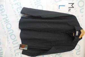 Camisa Varon Baronet Talla L 16.5 Azul Oscuro Manga Larga