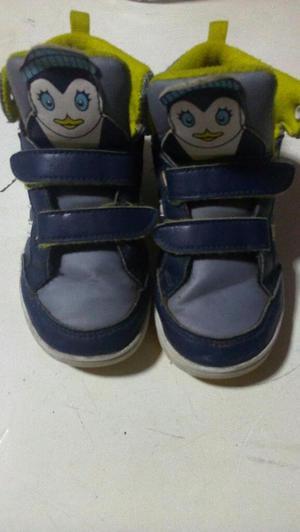 Zapatillas Botin Adidas Niño