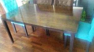Mesa de comedor de madera a S/ 600