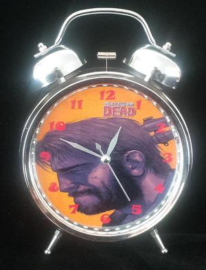 Reloj Despertador Estilo Vintage The Walking Dead Twd Comic