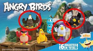 Colección Angry Birds de Burger King: Águila, Matilda,