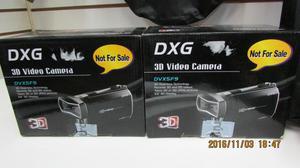 videocamaras DXG full hd 3D en caja