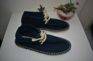 Zapatillas Topman Azules Talla 42 Zara