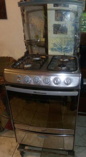 Remato cocina a gas marca Indurama