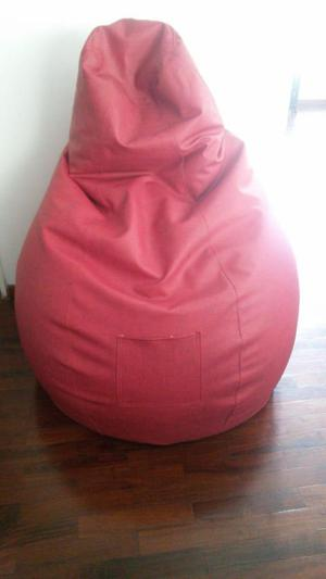 Sofa Puff inflable con relleno