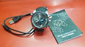 Reloj Camara Espia Vision Nocturna
