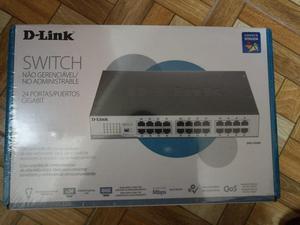 Switch DLINK nuevo en caja modelo DGS d, VELOCIDAD
