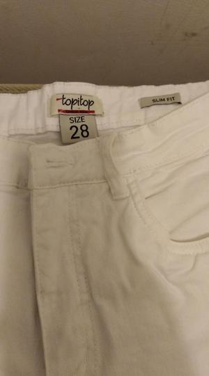 Remato Pantalón Blanco Talla 28