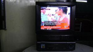 Tv Crt Sony Trinitron 14 Pulgadas Vhs Sony Hifi Stereo