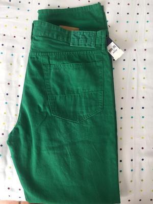 Jean Polo Ralph Lauren Talla 35 Slim Straigh verde