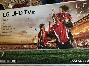 """Vendo Tv Lg 55"""" Uhd 4K  Nuevo"""