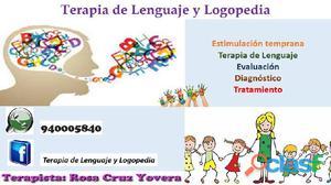 Terapia de Lenguaje y Logopedia