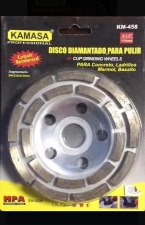 Vendo Disco Diamantado Desbaste Concreto