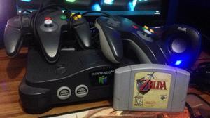 Nintendo 64 Consola The Legend Of Zelda Ocarina Of Time