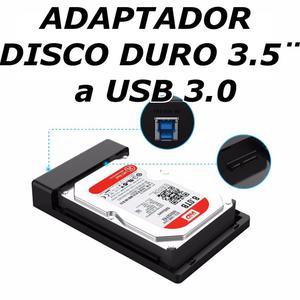 Case Adaptador Disco Duro 3.5 Sata De Pc A Usb 3.0 Nuevo,