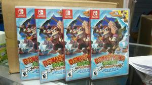 Donkey Kong Country Tropical Freeze Nintendo Switch Nuevo y