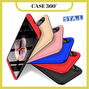 Case Protector y Vidrios Xiaomi Redmi note