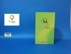 Moto G6 play 32 GB caja sellada, libre, Tienda Fisica