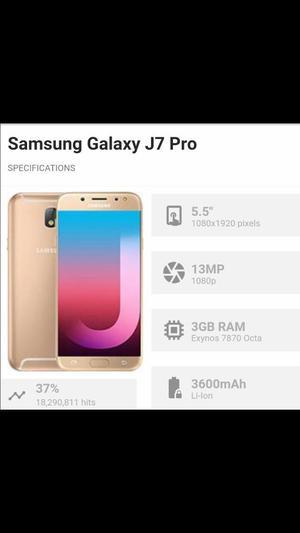 New Samsung Galaxy J7 Pro 64gb Importado