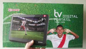 Tv Digital Portatil de 9 Pulgadas Miray