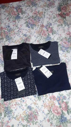 Polos Zara Nuevos Y Originales 50dscto