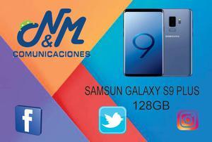 SAMSUNG GALAXY S9 PLUS 128GB: 6GB RAM, CAM DUAL 12 MP. SOMOS