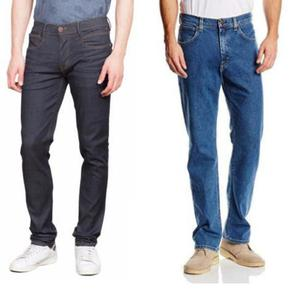 Pantalones Hombre Nuevos Jean Clasico Tela Premiun Tallas y
