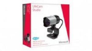 Cámara Web Microsoft Lifecam Studio, Full p Hd, Con