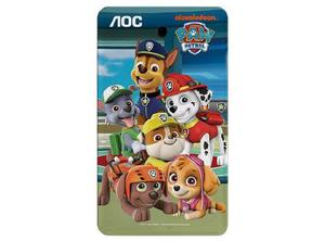 Tablet Aoc A731-n2 7 Diseño Paw Patrol Android 7.1