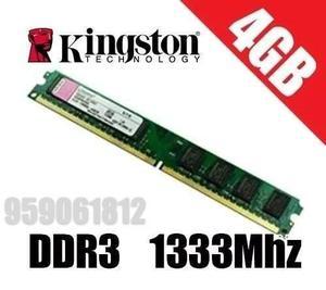 Memoria Ram 4gb Ddr3 Bus  Y  Para Pc