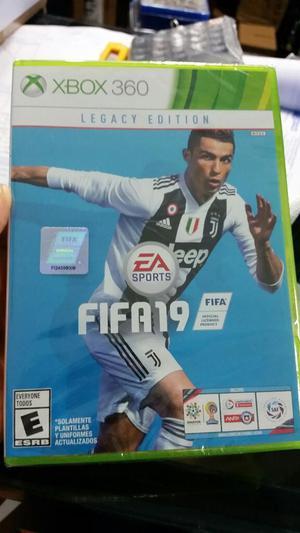 Fifa 19 Xbox 360 Nuevo Y Sellado Stock